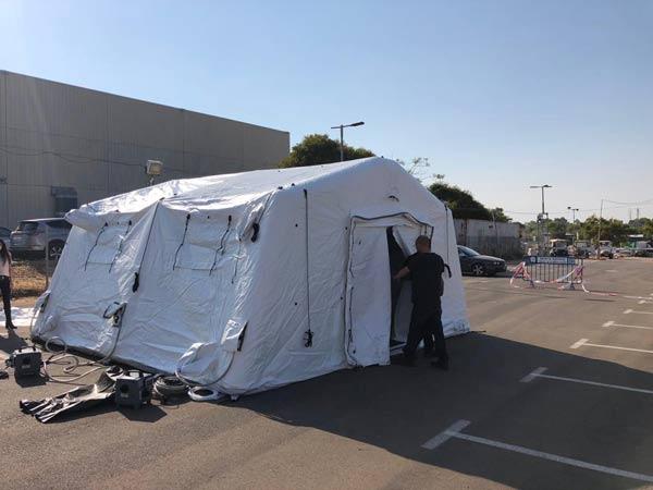 אוהלים מתנפחים למכירה