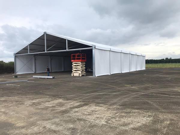 אוהלי אחסון ולוגיסטיקה