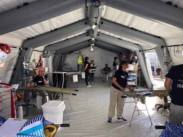 אוהל בית חולים שדה