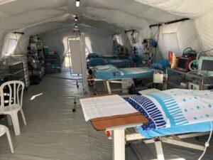 אוהל מרפאה