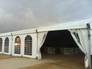 אוהל המשמש כסוכת אבלים