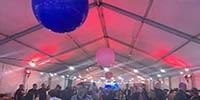 מסיבה בתוך אוהל